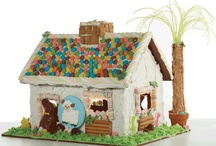 Easter Candy Cottage Inspirations / This activity will be hard for even the Easter Bunny to resist!  Peeps, jelly beans, chocolate bunnies and more will make The Candy Cottage a treat for all ages!
