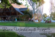 Entertaining {Barn Wedding} / Just finished..it was beautiful!