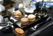 Arts de la table jetable / Les arts de la table se pratiquent aussi à l'aide d'une vaisselle jetable lorsque celle-ci est élégante et bien présentée.