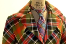 Plaid Passion / Plaid clothes, home furnishings and other wonderful plaid things.