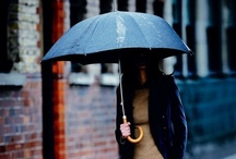 Rain, rain... / Staying chic in the rain