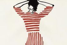 Stripes / Stripes in fashion and illustration