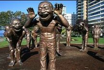 Statues creep me out! / by Brandi Medeiros