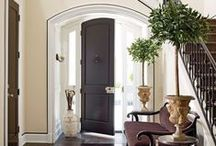 Making An Entrance / Beautiful Front Entryways / by Diana Atkinson