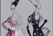 Illustrations by Heather Fonseca / Fashion Illustrations, sketches and drawings by Heather Fonseca