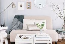 small space living / for cramming your life into the nooks and crannies. / by Paige Gildner