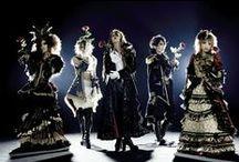 Goth Glam / Glamorous goth girls and boys