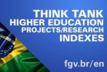 Sobre a FGV - About FGV / Infográficos e vídeos sobre a FGV.  Infographics and videos about FGV.