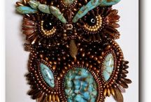 Beaded Beauties by Other Folks / Phenomenal Beaded work by so many talented people