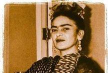 frida kahlo / by Rhonda Lette