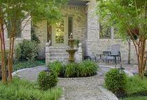 Garden ~ English Courtyards