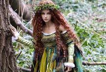 Fairies & Fantasy / Fairies, mermaids, dragons and damsels.