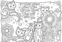 Coloring pages / Black & white line drawings for coloring