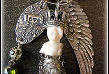 Frozen Charlotte Art Jewelry