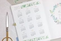 Planners and Bullet journals / How to use planners effectively to increase productivity and wellbeing, including bullet journal ideas and layouts.