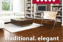 """Cork Floors / Rich textures and colours of cork flooring help to enhance your décor; """"Mix and """"Match"""" capability. Click here to see the portfolio of colours for cork flooring.  Easy to Install TORLYS Cork floors clicks together without glue and installs over existing floors; any grade level. Click here to see TORLYS installation video."""