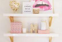 • Home • / Decor Ideas for the girly and feminine house