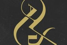 ampersand / a collection of beautiful ampersands
