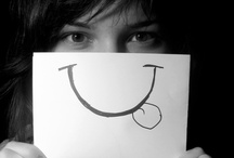 """God Put a Smile Upon Your Face / """"A day without laughter is a day wasted""""~Charlie Chaplin / by ninoBejo *"""