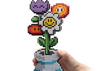 Cross Stitch/Hama/Perler Beads / Cross Stitch,Hama Beads,Perler Beads,Mario,Pokemon,Alphabet