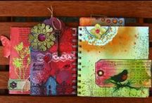 ideas: journals & scrapbooks / A collections of ideas I want to try some day (once I take time away from Pinterest, haha!)