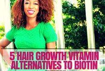 Black Hair Care Hacks / by ROCKIN' IT NAPPTURAL!!
