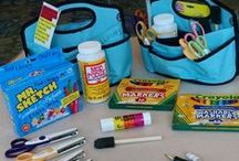 Crafts in Rod Library / Craft Totes are available for check out at the Reference Desk / by Rod Library