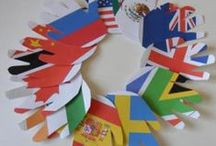 World Thinking Day / Crafts and activity suggestions which could be used for World Thinking Day on the 22nd February.