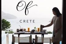 Foods of Greece | travel / Discover the foods of Greece from homestyle cooking to fine dining from destinations like Mykonos, Santorini, Crete, Athens and Costa Navarino. Highlights also include Greek wines.
