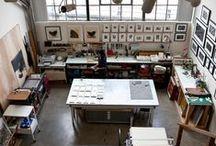 Studio Inspiration / Sewing Room / Craft Room Inspo