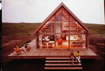 outdoor living / Even the wayward wanderer can dream of settling down - and when I finally do, I want my home to look like this. / by Katie Boué
