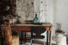 workspaces + offices / by Katie Boué