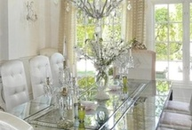 HOME IDEAS: Dining room / A place where good food, conversation & memories are made!