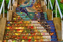 The vision must be followed by the venture. It is not enough to stare up the steps - we must step up the stairs. / by Meghan Costanzo