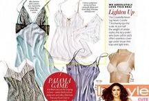 As Seen In....◈ / Our favorite bras and panties seen in national and international publications.