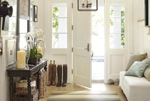 entrys / foyers/ hallways / by jill anne
