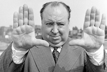 """Alfred Hitchcock / """"Always make the audience suffer as much as possible"""" / by Maggie"""