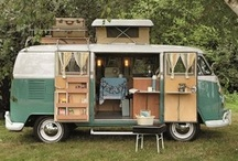 van life / Tips, tricks, and inspiration for folks who dwell in vans (or dream of one day living on the road).  / by Katie Boué