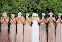 Beautiful Bridesmaids / Bridesmaid dresses, bridesmaid proposal ideas, bridesmaid gift ideas and more. They've been by your side through life's ups and downs, it's time for them to stand by your side at the altar!