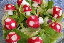 Eat -- Salad / by Elizajane Allen
