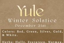 ✪ ʏʋʟϵ / Welcome light and warmth into your home, and embrace the fallow season of the earth. The Yule season is full of magic, much of it focusing on rebirth and renewal, as the sun makes its way back to the earth. Focus on this time of new beginnings with your magical workings.