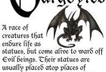 Gargoyles - seldom beautiful!