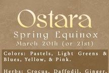 ✪ σsᴛαɾα / ~ March 21 ~ It's the time of the vernal equinox, and it's a true marker that Spring has come. Ostara is observed as a time to mark the coming of Spring and the fertility of the land. By watching agricultural changes such as the ground becoming warmer, and the emergence of plants from the ground, you'll know exactly how you should welcome the season.