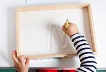 Montessori / Montessori-inspired activities for toddlers and preschoolers. Many are DIY-able! / by Kathryn McKenna