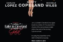 {gala} / The 2015 Ballet in Cleveland Gala welcomed BalletNext, and Misty Copeland and Carlos Lopexz of ABT. Tudor Arms Hotel. March 13, 2015.