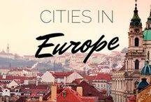Wanderlust...Europe / by Elizajane Allen