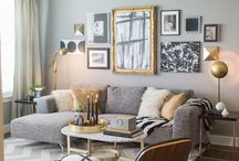 Sitting room inspiration / by Chartreuse & co
