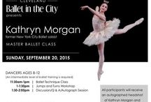 {ballerina kathryn morgan} / Ballet in the City presented An Evening with Kathryn Morgan at the John F. Kennedy Center for the Performing Arts in 2016.