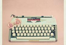 T Y P E writers / by Elizajane Allen
