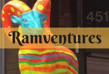 Ramventures / The adventures of the Day-Glo ram